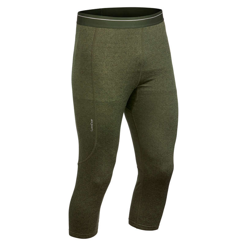 MEN SKI BASELAYER & PULL Skiing - M Base layer bottoms 500 - Gre WEDZE - Ski Wear