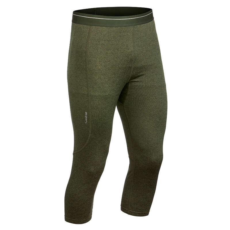 INTIMO E STRATO 2 UOMO Sci, Sport Invernali - Pantaloni termici uomo 500 WEDZE - Abbigliamento sci uomo