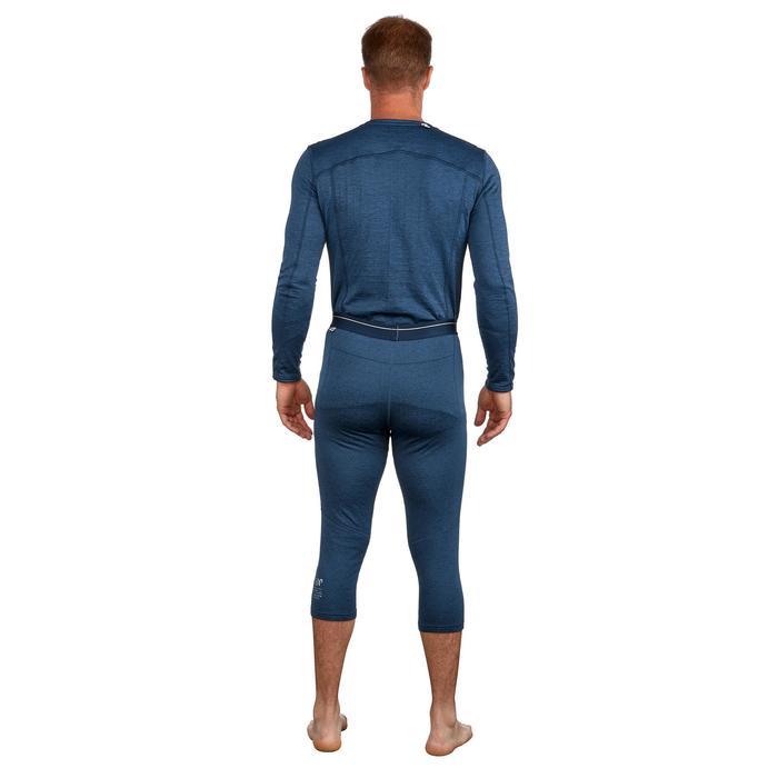 Heren thermobroek voor skiën 500 blauw