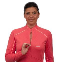 Couche 2 de ski Femme 500 Rose