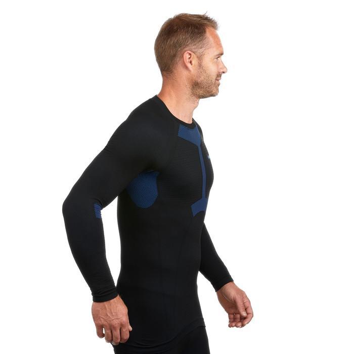 Skiunterwäsche Funktionsshirt 950 Herren schwarz/blau