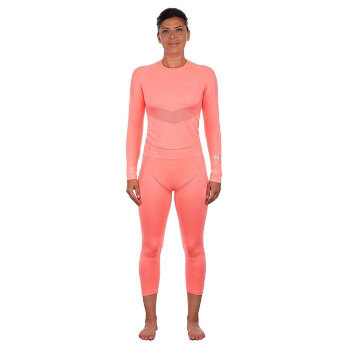 Sous-vêtement bas de ski femme 900 Rose
