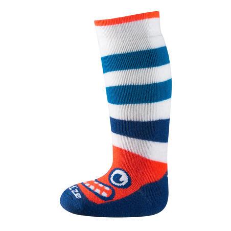 Babies' Skiing/Sledging Socks warm - Blue