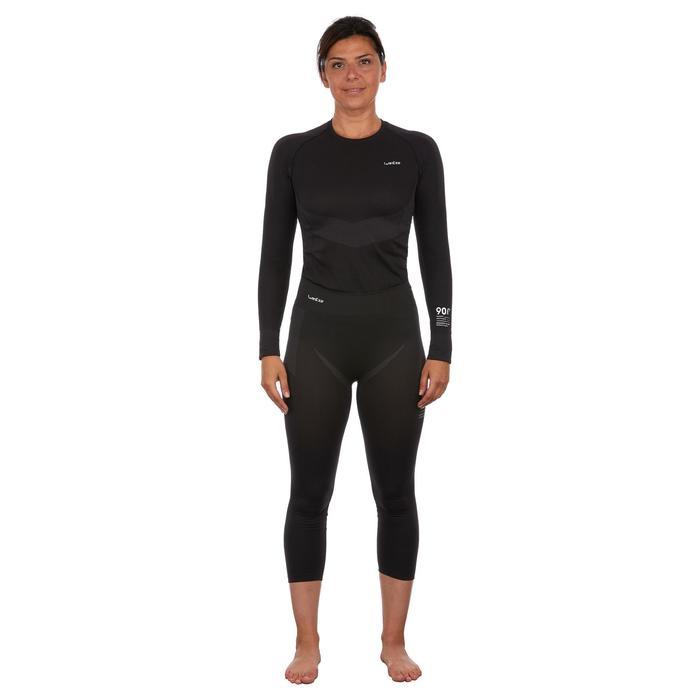 Sous-vêtement bas de ski femme 900 Noir