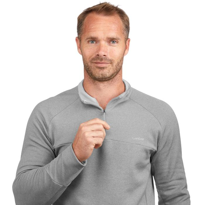 Camiseta de esquí hombre MD 500 gris