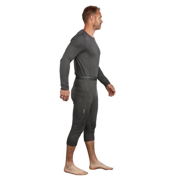 Pantalón de esquí hombre 500 gris