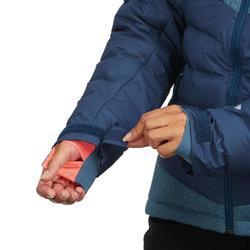 Ski-jas dames voor pisteskiën SKI-P JKT 900 Warm marineblauw