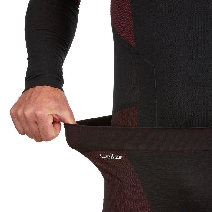 Lange skionderbroek heren 900 zwart rood