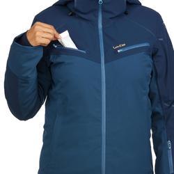 Skijacke Piste 580 Damen blau