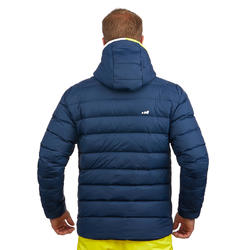 Ski-P 500 Men's Warm Ski Down Jacket - Blue