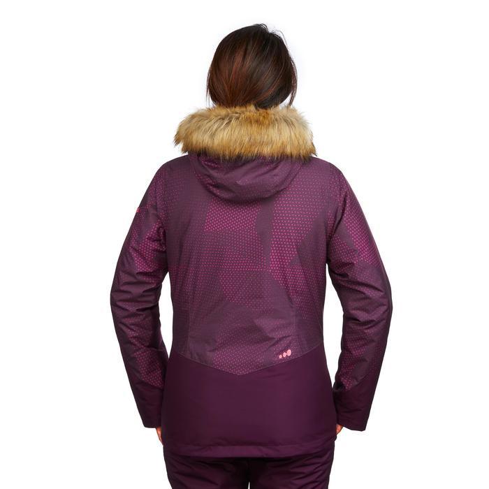 Skijacke Piste 150 Damen violett