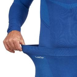 Lange skionderbroek voor heren 900 blauw
