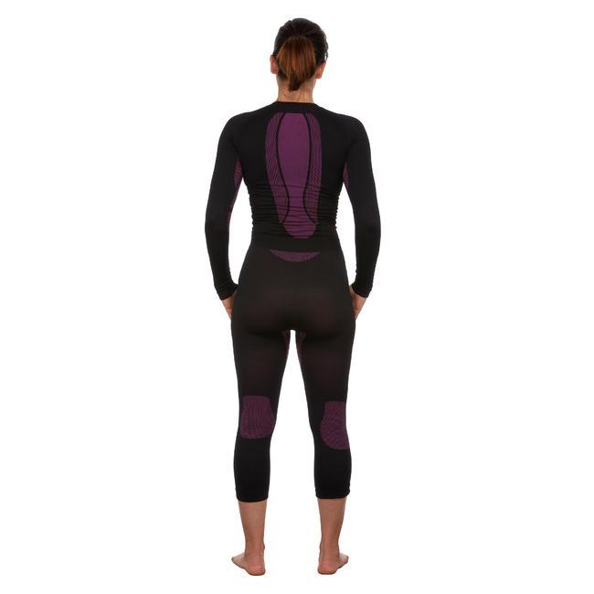 Women's Ski Base Layer Bottoms I-Soft - black