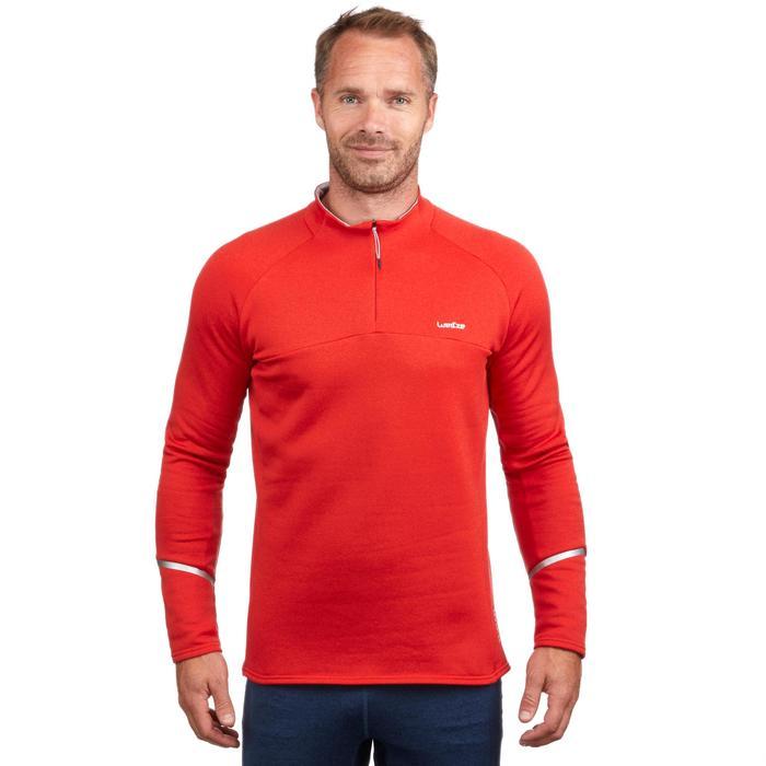 Couche 2 de ski Homme 500 Rouge