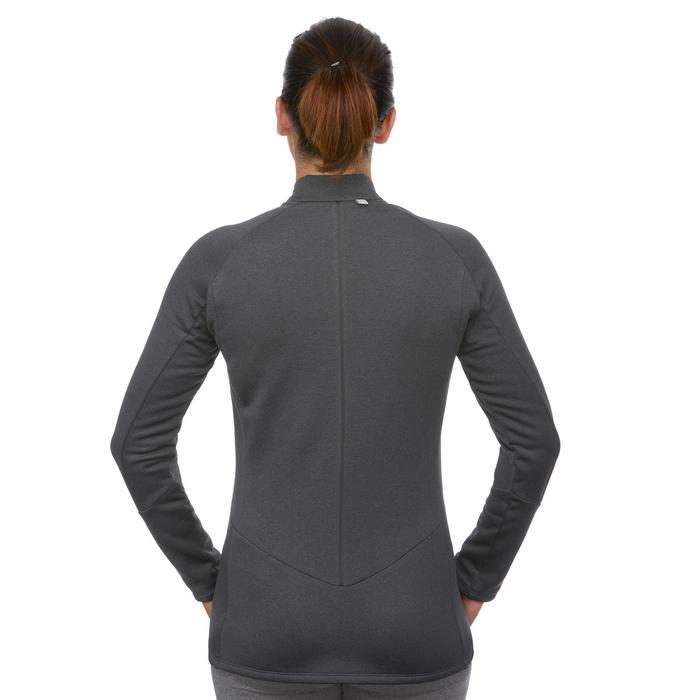Ski Funktionsshirt 500 Damen schwarz