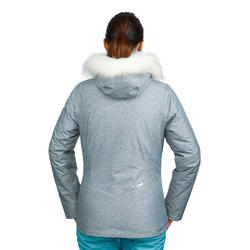 WOMEN'S DOWNHILL SKI JACKET 180 - GREY