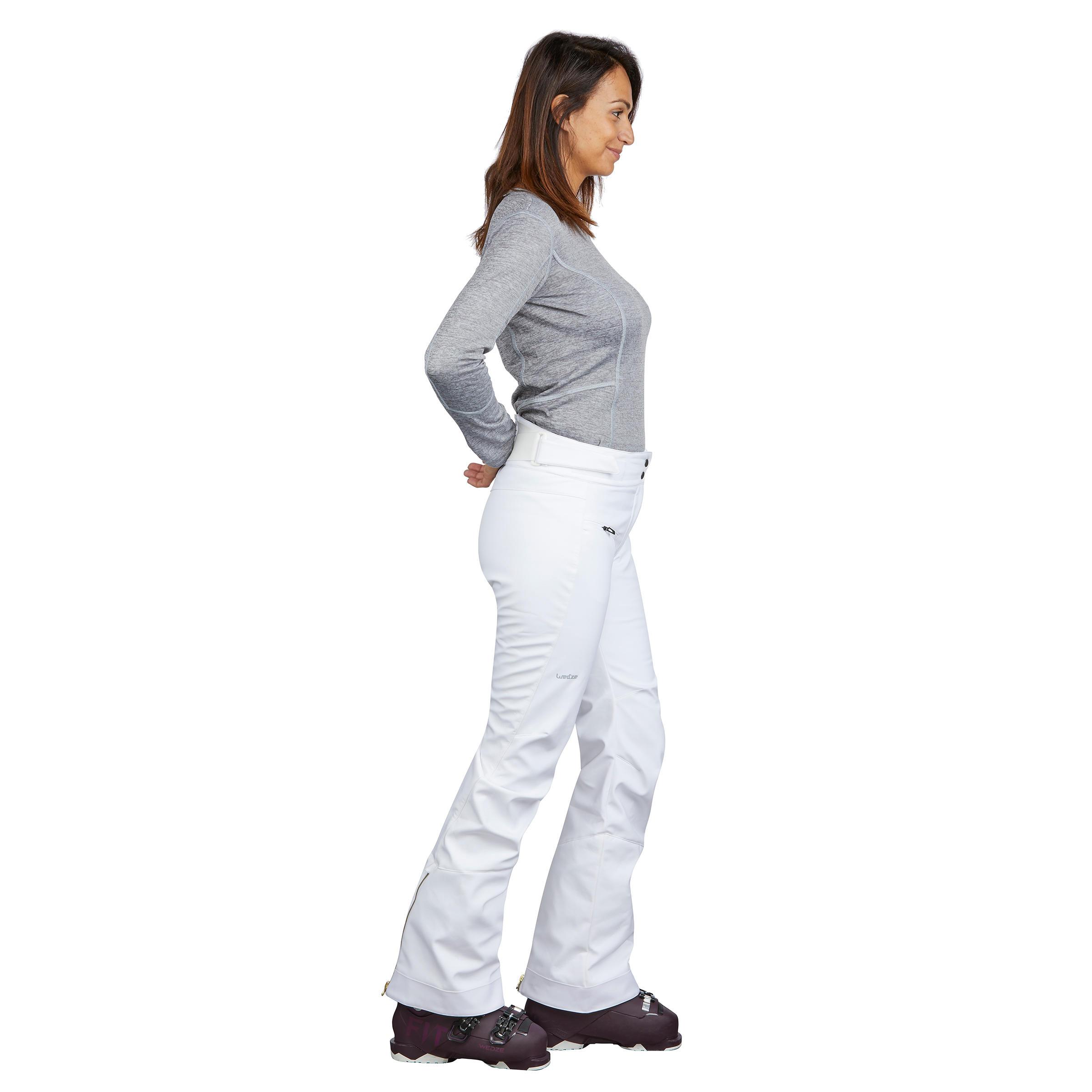 Ski-P PA 580 Slim Women's Trail Ski Pants - White