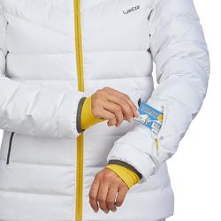DOUDOUNE DE SKI FEMME JKT 500 WARM BLANCHE