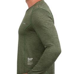 Sous-vêtement haut de ski homme 500 Vert