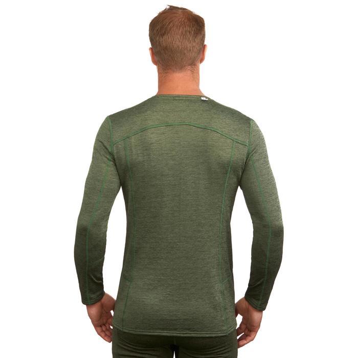 Camiseta térmica interior nieve y esquí Wed'ze 500 hombre verde