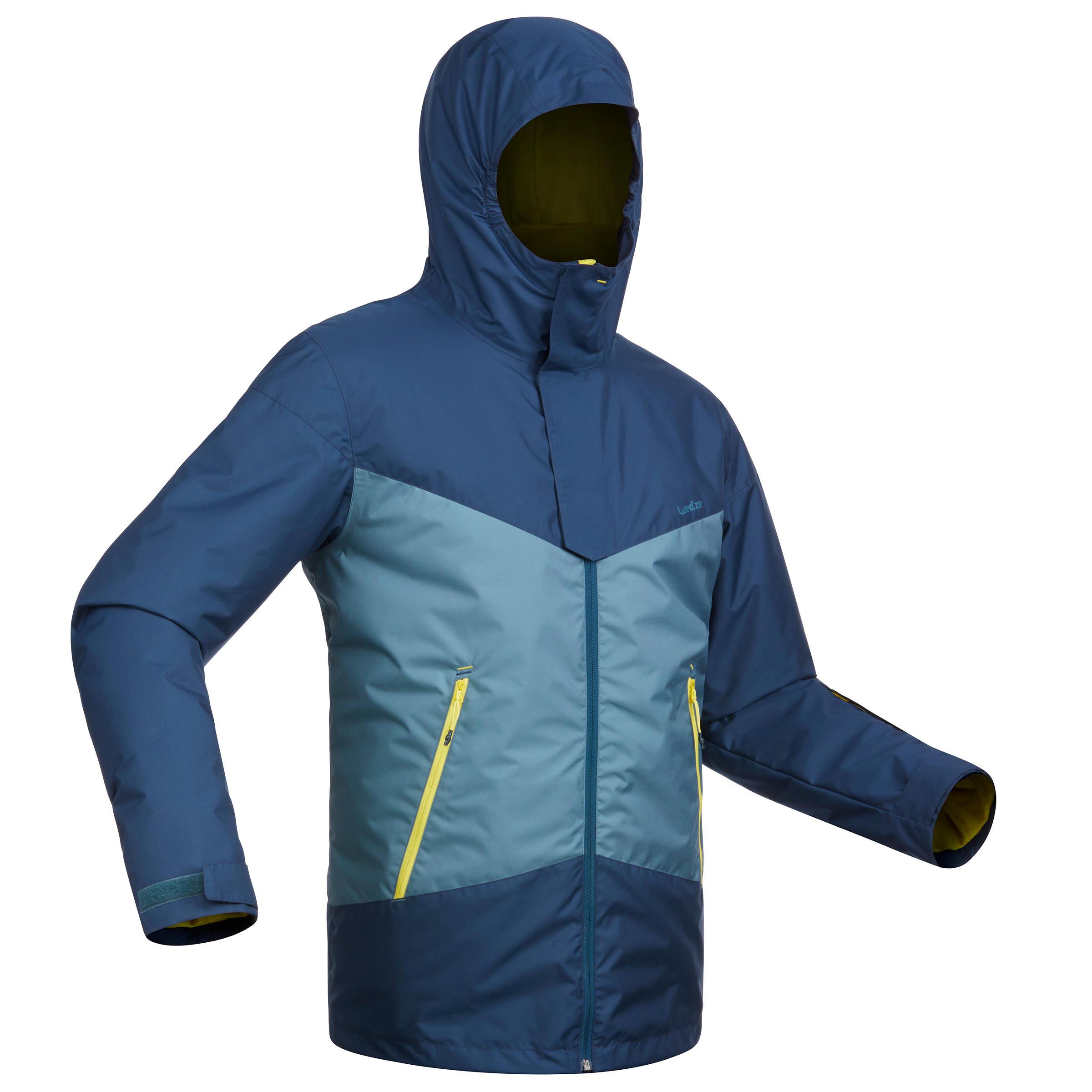 Wed'ze Heren ski-jas voor pisteskiën SKI-P JKT 150 marineblauw