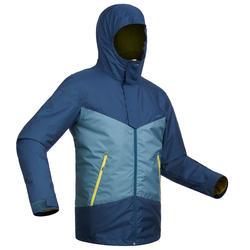 Heren ski-jas voor pisteskiën SKI-P JKT 150 marineblauw