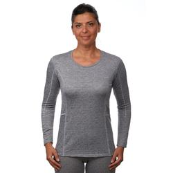 Thermoshirt dames ski 500 grijs