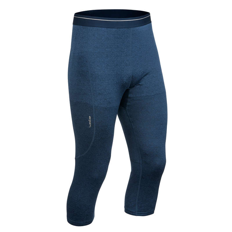 MEN SKI BASELAYER & PULL Skiing - M Base layer bottoms 500 - Blu WEDZE - Ski Wear