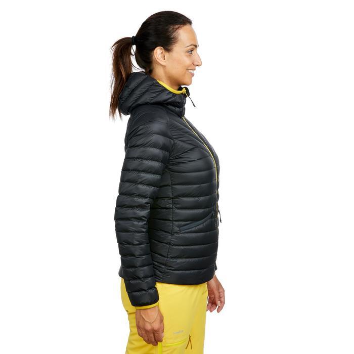 Ski-jas voor pisteskiën dames 980 zwart/grijs