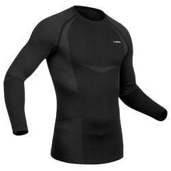 900 Men's Ski Base-Layer Top - Black/Grey