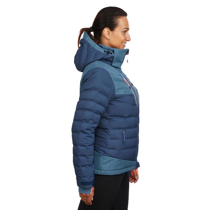 Donsjas dames ski 900 Warm blauw