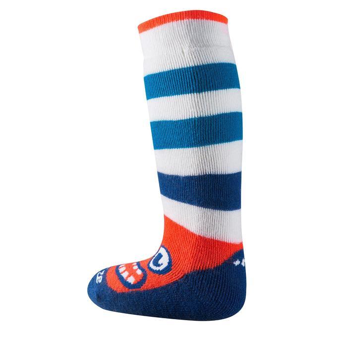 Socken warm Schlitten Baby blau