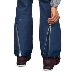 Dames skibroek voor pisteskiën SKI-P PA 580 slim fit blauw