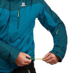Heren ski-jas voor pisteskiën Salomon Slope donkergroen