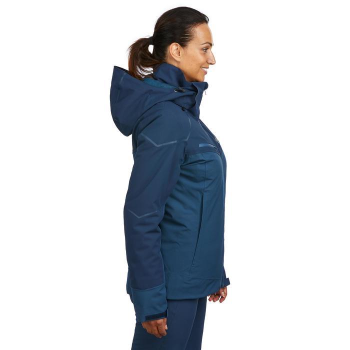 Waterdichte ski jas dames blauw 580 winterjas
