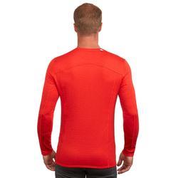 Thermoshirt heren ski rood 500
