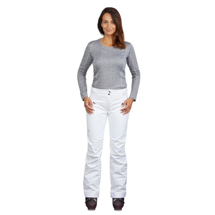 Skibroek voor dames SKI-P PA 580 slim fit wit