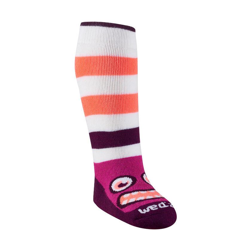 Babies' Ski Socks Warm - pink