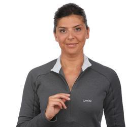 Skiunterwäsche Funktionsshirt MD 500 Damen schwarz