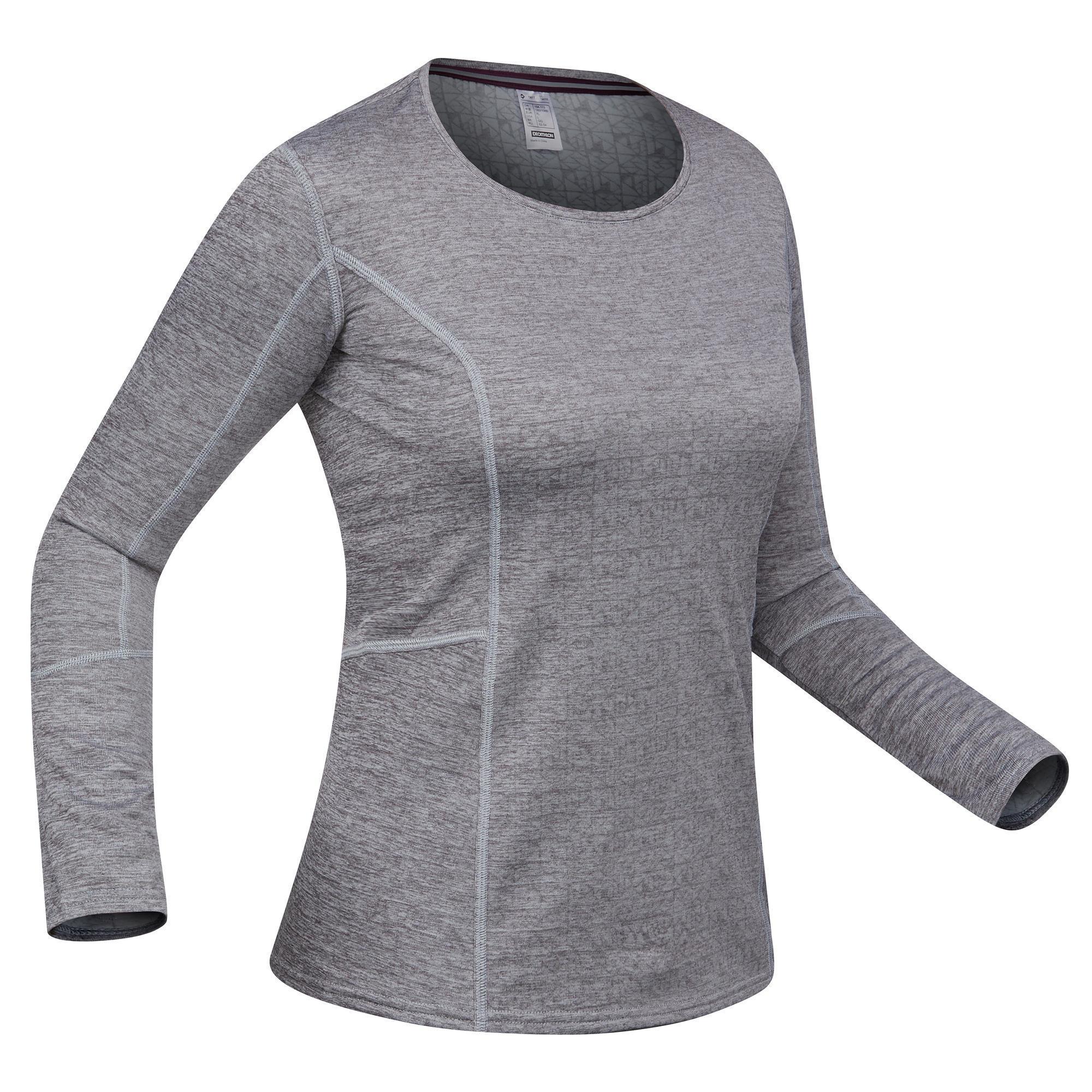 Skiunterhemd 500 Damen grau | Sportbekleidung > Funktionswäsche > Thermounterwäsche | Wed'ze