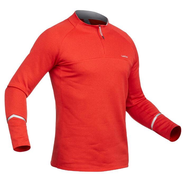 Camiseta de esquí hombre MD 500 rojo