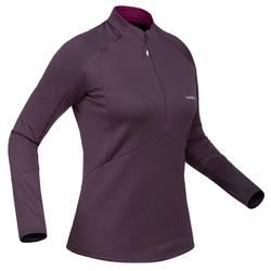 Funktionsshirt Ski 500 Damen violett