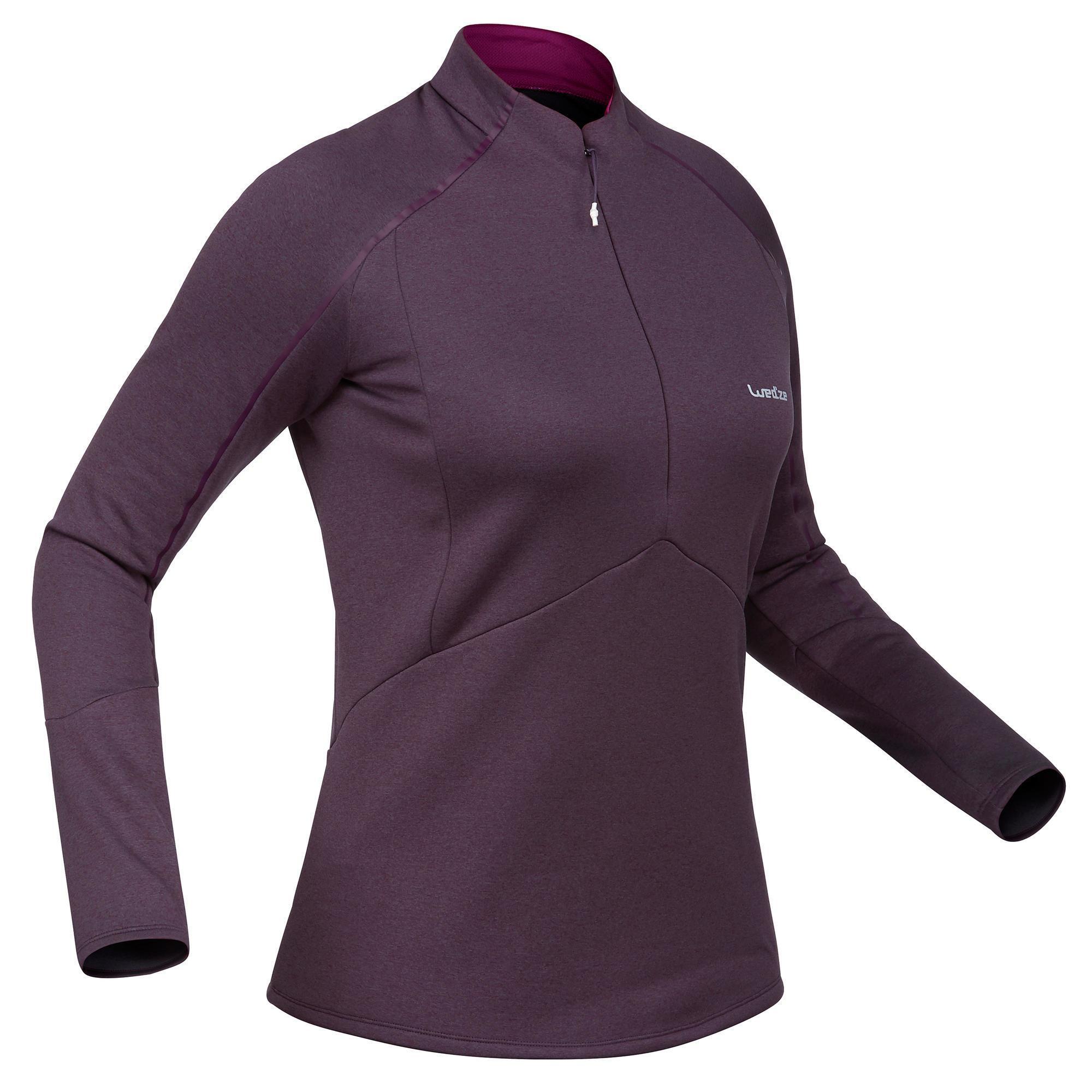 Skiunterhemd MD 500 Damen violett | Sportbekleidung > Funktionswäsche > Thermounterwäsche | Violett | Wed´ze