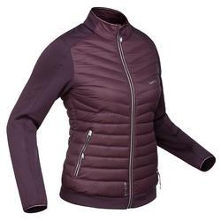 Sous-veste duvet de ski femme 900 Prune