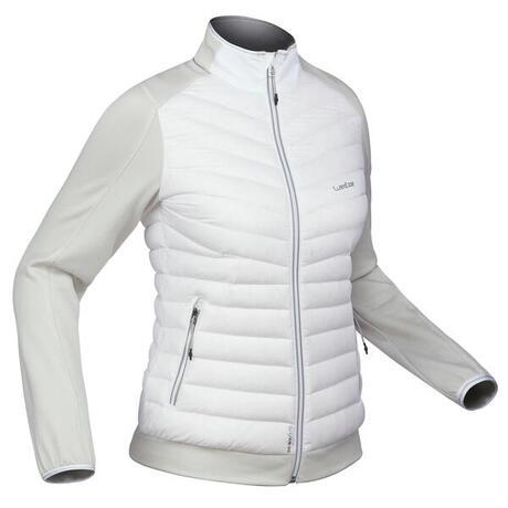 Sous-veste duvet de ski femme 900 Blanche  ac961960e02
