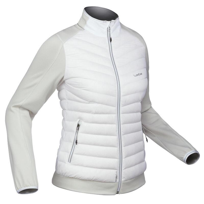 Midlayer voor skiën dames 900 wit