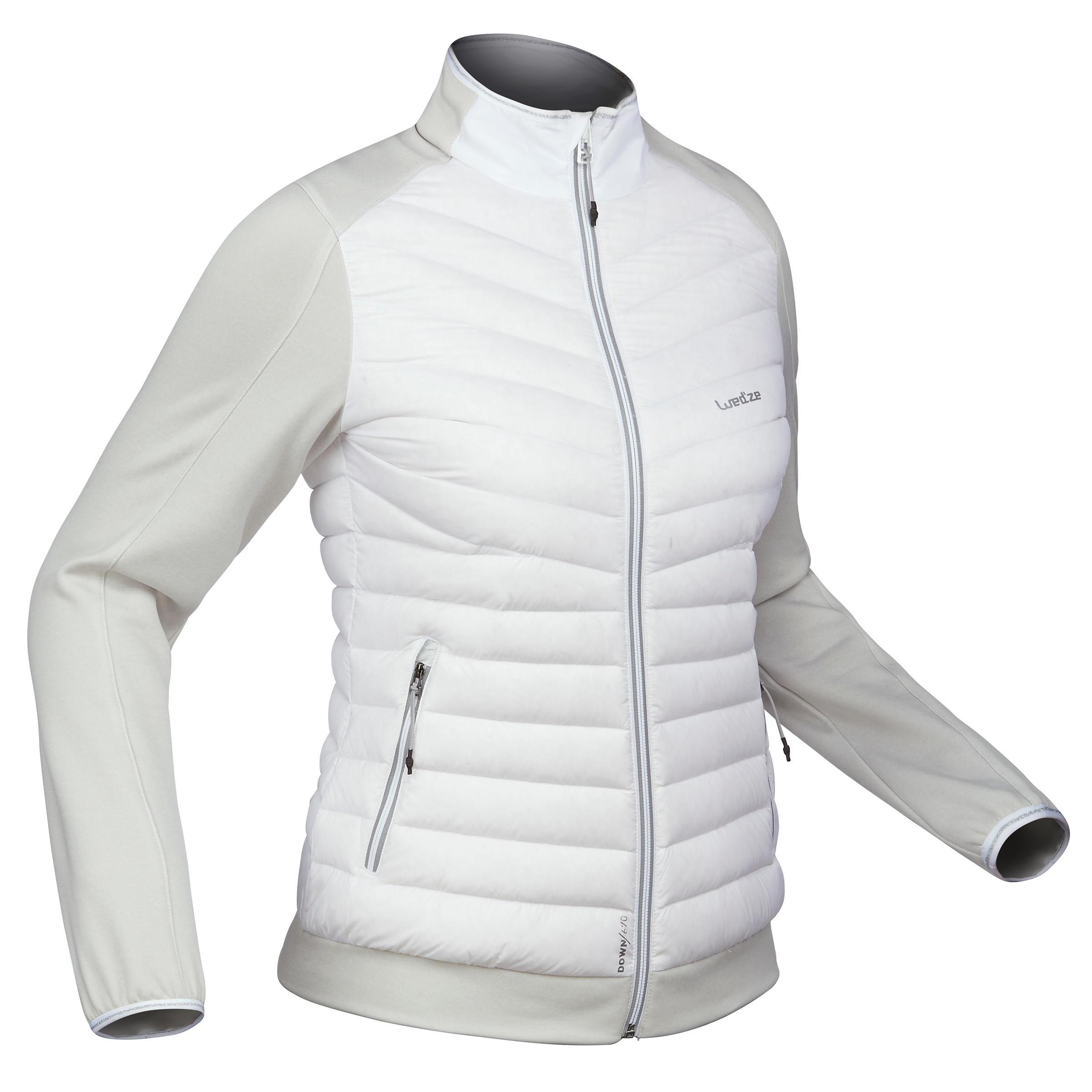 Jachetă schi 900 Alb Damă