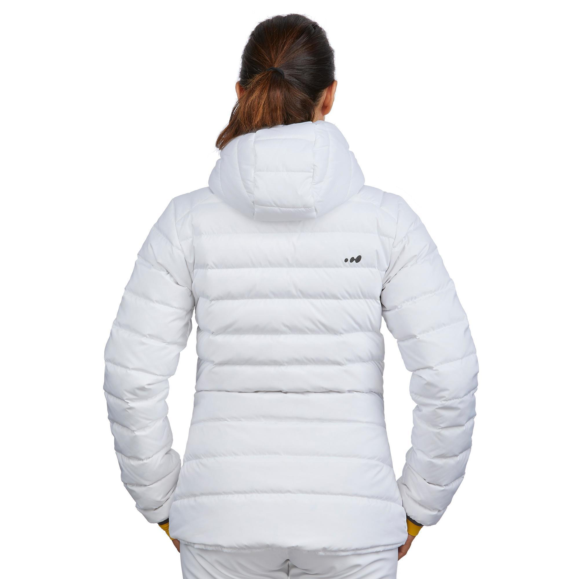 Dons Dames Winterjas.500 Dons Warm Jas Ski Voor Dames Jkt Qfgx1fx