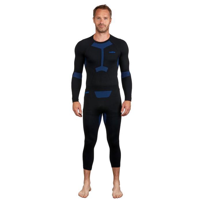 Men's Base layer ski top i-Soft - Black