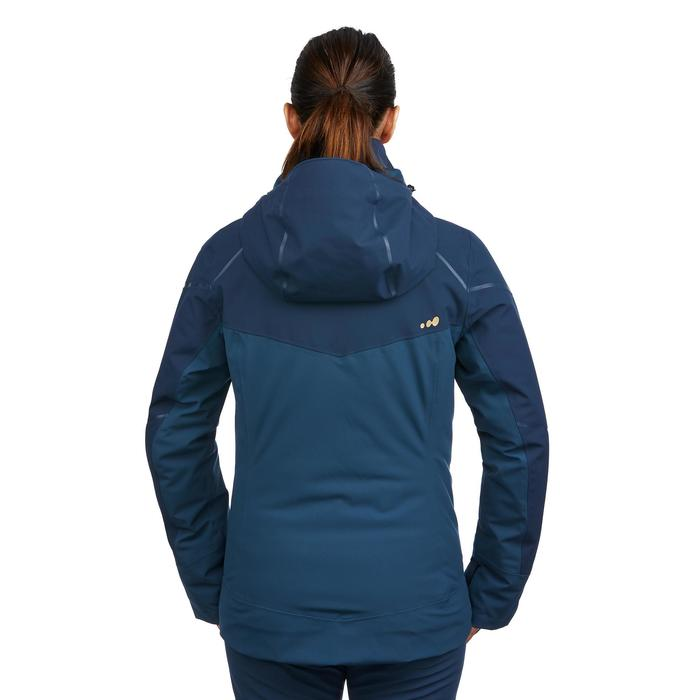 WOMEN'S DOWNHILL SKI JACKET 580 - BLUE
